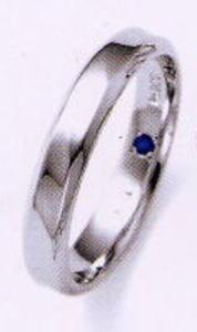 ★お買い得特別価格!!★RomanticBlueロマンティックブルー4RK004(35)マリッジリング・結婚指輪・ペアリング用(1本)