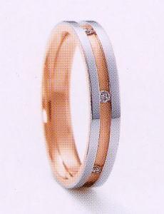 ★NINA RICCI【ニナリッチ】(24)6RM905-3マリッジリング・結婚指輪・ペアリング用(1本)