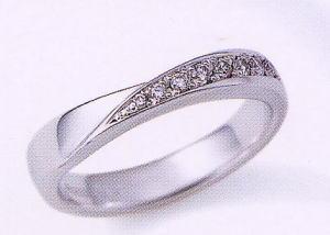 ★NINA RICCI【ニナリッチ】(41)6RB910-2マリッジリング・結婚指輪・ペアリング用(1本)