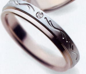 ★【お得な卸直営店価格はお問合せ下さい】★BISVAGUE【ビスバーグ】BV-166マリッジリング、結婚指輪、ペアリング用(1本)