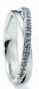 ★NINA RICCI【ニナリッチ】(45)6RB0002-3マリッジリング・結婚指輪・ペアリング用(1本)