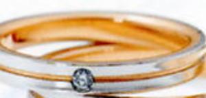 ★NINA RICCI【ニナリッチ】(26)6RM907マリッジリング・結婚指輪・ペアリング用(1本)