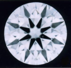 直輸入価格!! ダイヤモンドルース 0.30ct F-VS2-3EX(H&C)中央宝石研究所鑑定書付(CGL)