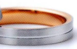 ★卸直営店(お得な特別割引価格)!!★RomanticBlueロマンティックブルー4RH034(番外46)マリッジリング・結婚指輪・ペアリング用(1本)
