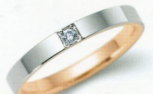 ★NINA RICCI【ニナリッチ】(39)6R1F07-3マリッジリング・結婚指輪・ペアリング用1469696(1本)