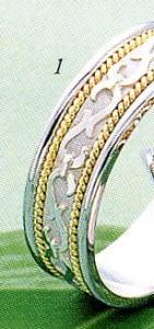 ★Tresoro【トレソロ】(1)99G52 wide 6.5mmマリッジリング・結婚指輪・ペアリング