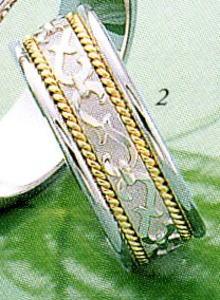 ★Tresoro【トレソロ】(2)99G52 wide 6.5mmマリッジリング・結婚指輪・ペアリング
