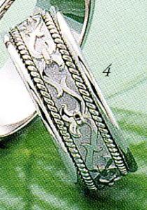 ★Tresoro【トレソロ】(4)99GDB wide 6.5mmマリッジリング・結婚指輪・ペアリング