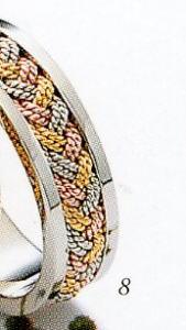 ★Tresoro【トレソロ】(8)63D74 wide 5.0mmマリッジリング・結婚指輪・ペアリング