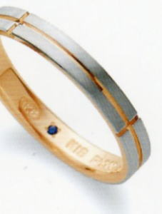 ★お買い得特別価格!!★RomanticBlueロマンティックブルー4B3002(24)マリッジリング・結婚指輪・ペアリング用(1本)