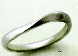 ★【卸直営店(お得な特別割引価格)はお問い合わせ下さい★Feerie Porte (フェーリーポルテ)FP-921(Pt585)マリッジリング、結婚指輪、ペアリング用(1本)