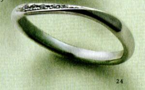 ★【卸直営店(お得な特別割引価格)はお問い合わせ下さい★Feerie Porte (フェーリーポルテ)FP-920(Pt585)マリッジリング、結婚指輪、ペアリング用(1本)