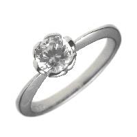 全日本送料無料 0.5ct.E-VVS1-3EX(H&C)PTプラチナ婚約指輪(エンゲージリング)ダイヤモンドリング、フラワー(花びら)タイプ(鑑定書付), シクルテリア バニラバニラ 1f0b649d
