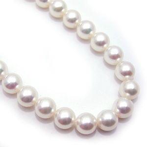 ★花珠★アコヤ本真珠パール2点セット♪(ネックレス、イヤリング)7.5~8.0mm