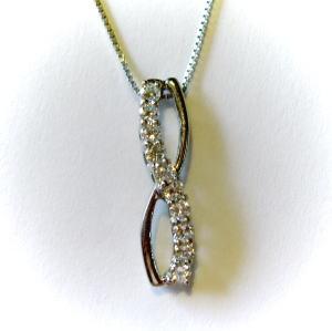 プラチナ ダイヤモンド約0.3ct スイートテン ペンダント♪