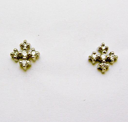 【メール便送料無料対応可】 K18 ホワイトゴールドダイヤモンドピアス♪K18 ホワイトゴールドダイヤモンドピアス♪, はんこキング(印鑑シャチハタ):4c45f333 --- rishitms.com