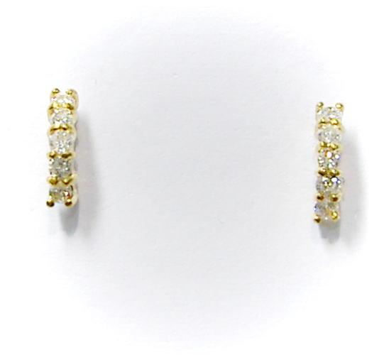 優先配送 税込 送料無料選択可能 代引手数料無料 K18ゴールド ダイヤモンド pe-6435 新商品 ピアス