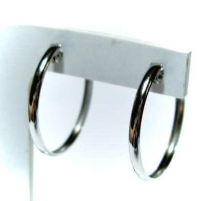 プラチナ 輪2×20mm ピアス(ミゾあり)♪