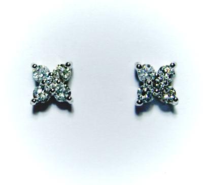 K18ホワイトゴールド ダイヤモンド0.2ct 花ピアス 花ピアス♪♪, アツシオカノウムラ:ce75287f --- odigitria-palekh.ru