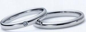 ★お買い得特別価格!!★RomanticBlueロマンティックブルー4RK026ダイヤ(5)&4RK001(6)-2本セットマリッジリング・結婚指輪・ペアリング