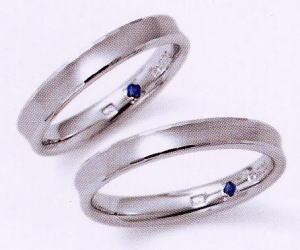 ★お買い得特別価格!!★RomanticBlueロマンティックブルー4RK002(33)&4RK002(34)-2本セット(2本とも同じリングです)マリッジリング・結婚指輪・ペアリング