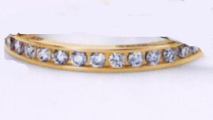 ★お買い得特別価格!!★RomanticBlueロマンティックブルーK18YG イエローゴールド 4C3002(13)マリッジリング・結婚指輪・フルエタニティーリング