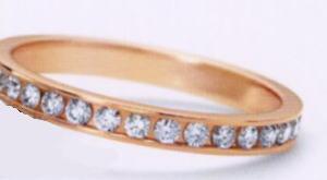 ★お買い得特別価格!!★RomanticBlueロマンティックブルーK18PG ピンクゴールド 4C2002(15)マリッジリング・結婚指輪・フルエタニティーリング