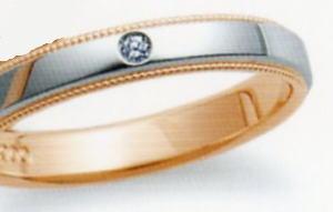 ★お買い得特別価格!!★RomanticBlueロマンティックブルー4A3001(22)マリッジリング・結婚指輪・ペアリング用(1本)
