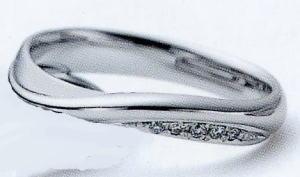 ★お買い得特別価格!!★RomanticBlueロマンティックブルー4RK027(12)マリッジリング・結婚指輪・ペアリング用(1本)