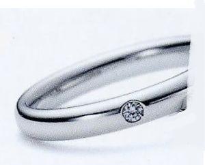 ★お買い得特別価格!!★RomanticBlueロマンティックブルー4RK026(5)マリッジリング・結婚指輪・ペアリング用(1本)