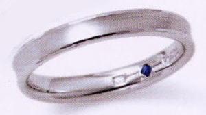 ★お買い得特別価格!!★RomanticBlueロマンティックブルー4RK002(34)マリッジリング・結婚指輪・ペアリング用(1本)