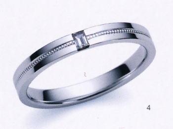 ★お買い得特別価格!!★Romantic Blueロマンティックブルー4A1006(4)マリッジリング・結婚指輪・ペアリング用(1本)