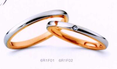 ★NINA RICCI【ニナリッチ】(19)6R1F01-2 &(20)6R1F02-2 ダイヤ-2本セットマリッジリング・結婚指輪・ペアリング