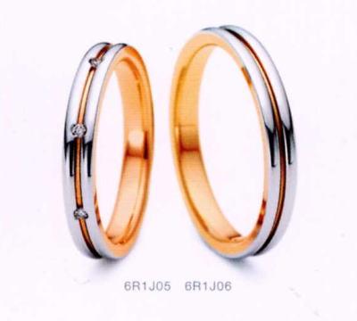 ★NINA RICCI【ニナリッチ】(28)6R1J05-3 ダイヤ&(29)6R1J06-3 2本セットマリッジリング・結婚指輪・ペアリング