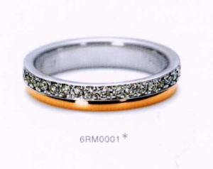 ★NINA RICCI【ニナリッチ】(30)6RM0001-3 ダイヤマリッジリング・結婚指輪・ペアリング用(1本)