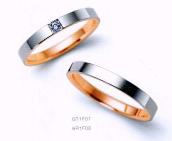★NINA RICCI【ニナリッチ】(39)6R1F07-3ダイヤ&(40)6R1F08-3 2本セットマリッジリング・結婚指輪・ペアリング