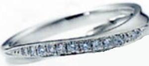★NINA RICCI【ニナリッチ】(43)6RB0003マリッジリング・結婚指輪・ペアリング用(1本)