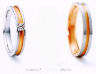 ★NINA RICCI【ニナリッチ】(23)6RM0003-3 &(25)6RL920-3 2本セットマリッジリング・結婚指輪・ペアリング