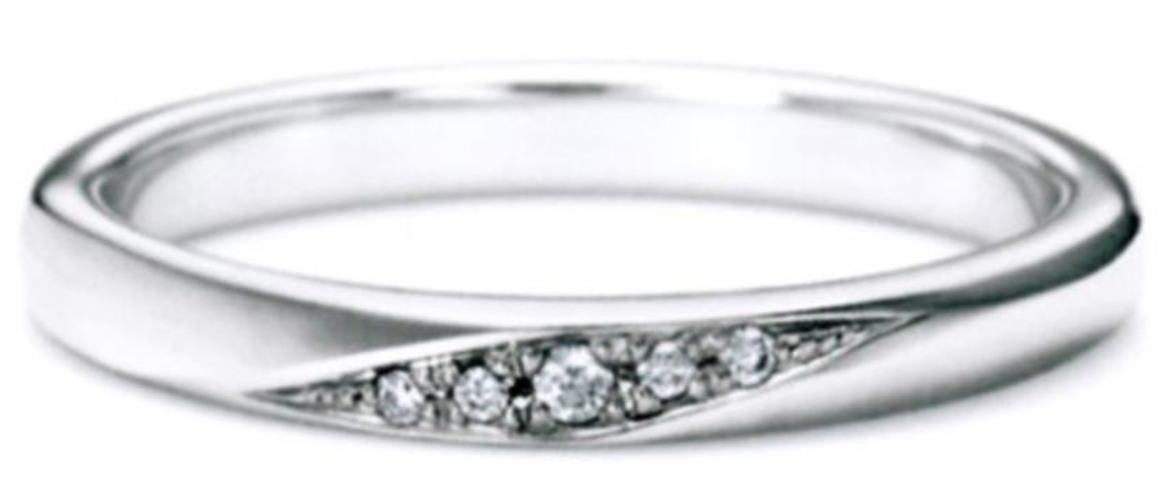 ★NINA RICCI【ニナリッチ】【新製品】6r1b04マリッジリング・結婚指輪・ペアリング用(1本)