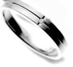 ★お買得情報があります???!!★ NOCUR ノクル CN-027 マリッジリング 結婚指輪 ペアリング (1本)