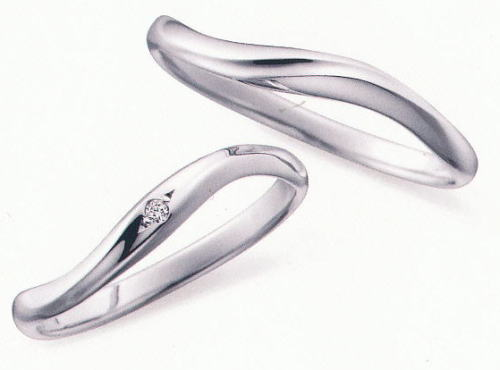 ★お買得情報があります??!!★ NOCUR  ノクル CN-055 & CN-056 2本セット定価 マリッジリング 結婚指輪 ペアリング