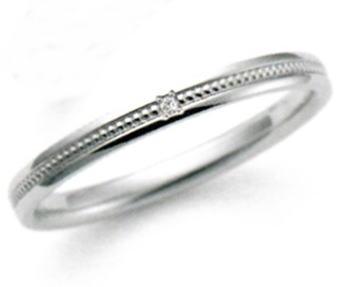 ★お買得情報があります!!★ NOCUR ノクル CN-061 マリッジリング 結婚指輪 ペアリング (1本)