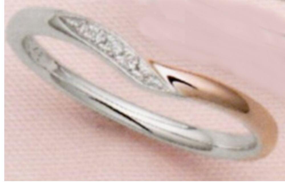 ★お買得情報があります??!!★ NOCUR ノクル CN-634(ダイヤ付き) マリッジリング 結婚指輪 ペアリング (1本)