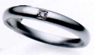 ★お買得情報があります???★サムシングブルー Something Blue SP-780マリッジリング、結婚指輪、ペアリング(1本)