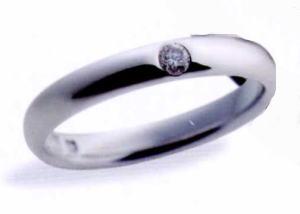 ★お買得情報があります???★サムシングブルー Something Blue SP-820(ダイヤ入り)マリッジリング、結婚指輪、ペアリング(1本)
