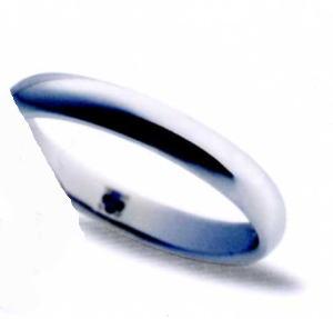 ★お買得情報があります???★サムシングブルー Something Blue SP-726マリッジリング、結婚指輪、ペアリング(1本)
