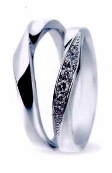 ★お買い得な情報があります???★サムシングブルー Something Blue SC-887-b3&SC-886-b3(2本セット定価)マリッジリング・結婚指輪・ペアリング