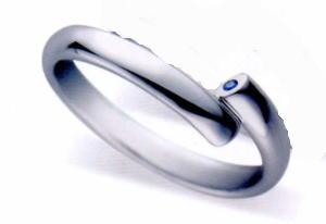 ★お買得情報があります???★サムシングブルー Something Blue SC-889マリッジリング・結婚指輪・ペアリング(1本)