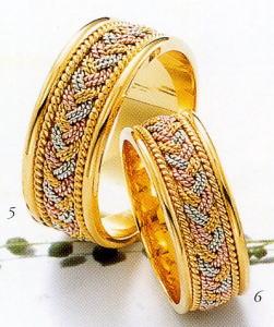 ★Tresoro【トレソロ】(5)01K04 wide 8.0mm&(6)01H04 wide 7mm(2本セット)マリッジリング・結婚指輪・ペアリング