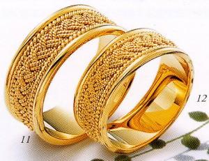 ★Tresoro【トレソロ】(11)01K01&(12)01H01(2本セット) マリッジリング・結婚指輪・ペアリング